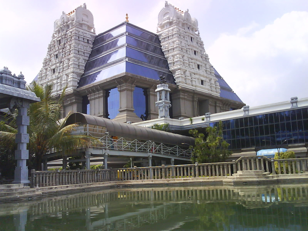 Electronic city to iskcon temple